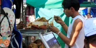 Descontrol en la comida que se vende en las calles
