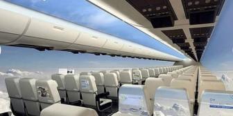 """Increíble: diseñan un avión """"transparente"""""""