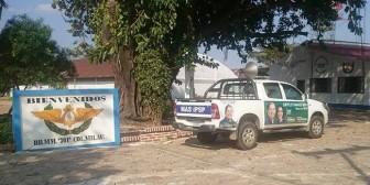 Usan cuartel militar para estacionar automóvil de campaña del MAS