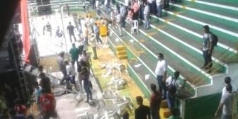 """""""Barras bravas"""" afines al MAS agredieron a seguidores de UD en Santa Cruz"""