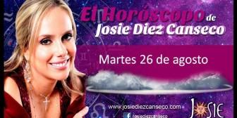Josie Diez Canseco: Horóscopo del martes 26 de agosto