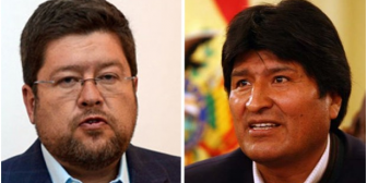 Dos audios reflejan frases machistas de los candidatos Samuel y Evo