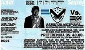 ¿Por qué aparece Evo Morales en las entradas de la Copa Sudamericana?