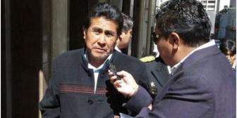 Presidente del Senado está hospitalizado en La Paz