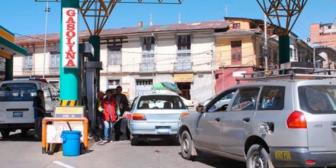 Humberto Vacaflor prevé gasolinazo gradual a partir del próximo año