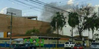 """Santa Cruz: Incendio en casa colindante a jardín de infantes """"Trapitos"""" provoca alarma"""