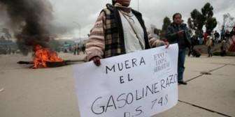 Gasolinazo: si Linera lo niega, se confirma