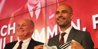 Pep Guardiola visitó al expresidente del Bayern Múnich en prisión