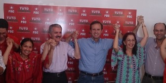 Tuto Quiroga suma apoyo para candidatura del PDC en Santa Cruz