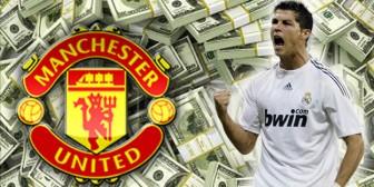 Cristiano Ronaldo ya negocia su sueldo con el Manchester United