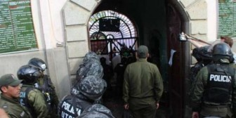 Crisis carcelaria: Cuatro reos fugan del penal de San Pedro