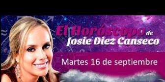 Josie Diez Canseco: Horóscopo del martes 16 de septiembre