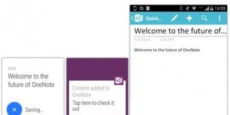 Microsoft lanza OneNote en Android Wear para el dictado de notas