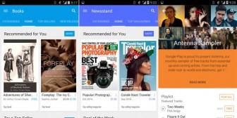 Google Play Store 5.0, primeras imágenes de su próximo rediseño