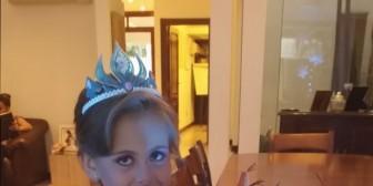 Danna Justiniano festejó su cumpleaños como toda una princesa