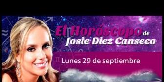 Josie Diez Canseco: Horóscopo del lunes 29 de septiembre