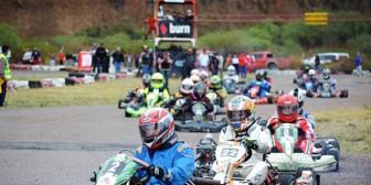 Karting: Tres pilotos vuelan en Arocagua