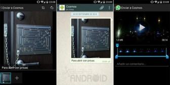 WhatsApp para Android ya permite agregar un comentario a las fotos y vídeos