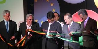 Evo inaugura la Expocruz y anuncia nueva vía Santa Cruz – Warnes