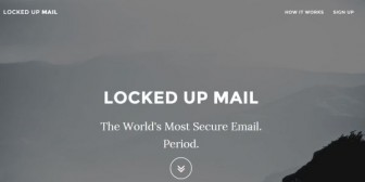 """Locked Up Mail, el servicio de correo electrónico """"más seguro del mundo"""""""