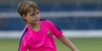 Un nuevo Messi se entrena en Barcelona