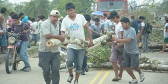 Santa Cruz amanecerá bloqueada por los transportistas este lunes