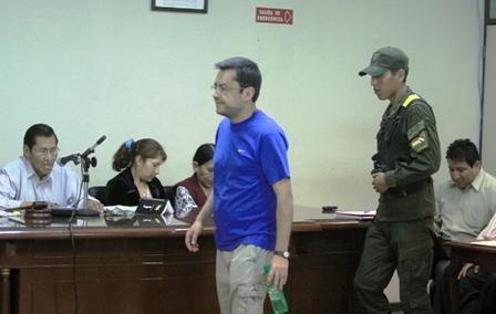 Villegas afirmó que Sacha quería incriminar a Branko