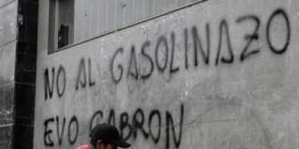 Subvención a combustibles: nuevamente, Evo habla de eliminarla