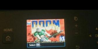 DOOM: Adaptan videojuego en una impresora Canon