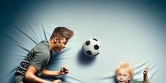 Neymar rueda un anuncio con su hijo Davi Lucca