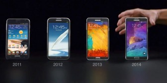 Samsung nos recuerda que Apple ha copiado a sus Galaxy Note