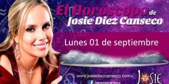 Josie Diez Canseco: Horóscopo del lunes 1 de septiembre