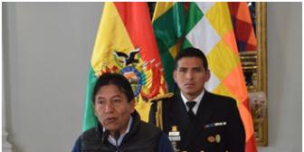 Canciller arremete contra candidato Tuto Quiroga,  lo acusa de 'prochileno'