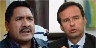 Viceministro Cáceres quiere encarcelar a Tuto Quiroga por 'bocón'