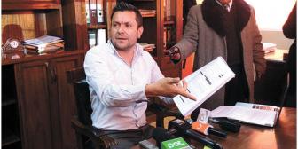 Certificados de lesiones comprometen a candidato de UD, Jaime Navarro