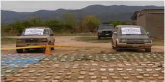 Policía declara al Chaco boliviano como zona de tránsito de drogas hacia Argentina y Chile