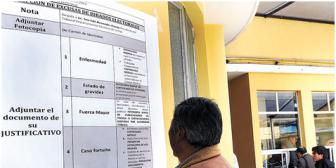 La web del Tribunal Electoral colapsa ante la demanda de información sobre la lista de jurados