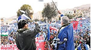 MAS teme que sus militantes impulsen el voto cruzado