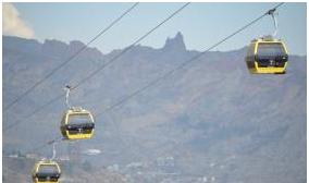 Apuro de Evo por inaugurar: línea Amarilla del teleférico La Paz – El Alto sufre percances