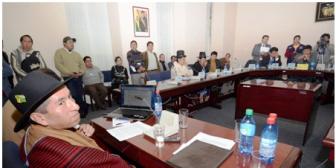 Mayoría masista en Diputados determinará responsabilidad de magistrado contestario a Evo