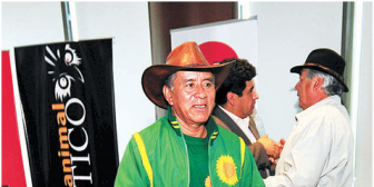 """Vargas planea acabar con """"dictadura del caudillismo"""" de Evo Morales"""