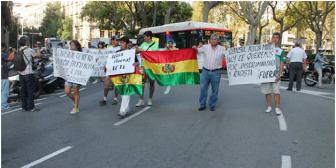 La cónsul en España divide a la comunidad boliviana y sólo atiende a los afines de Evo