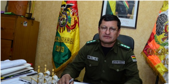 Confirmado: Reemplazan a Comandante de la Policía de Cochabamba