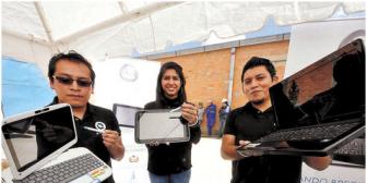 Portátiles y tablets de Quipus se venderán al público desde octubre