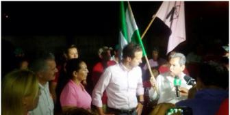 En nombre de los refugiados bolivianos, exjuez Tapia Pachi pide el voto para Tuto Quiroga