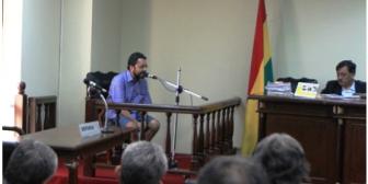 Imputados del caso Rózsa fueron amedrentados a tiros, tras audiencia en La Paz