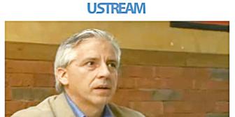 García Linera dio una entrevista por internet