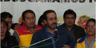 Navarro renuncia a su candidatura para evitar daños a Doria Medina