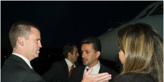 Policía de EEUU casi lleva preso a embajador boliviano Sacha Llorenti