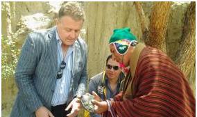 Director del concurso 7 Maravillas visita La Paz para conocer el lado humano y aspecto geológico